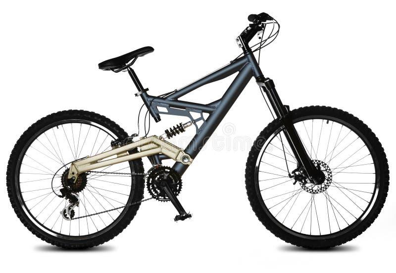 Geïsoleerde1 fiets royalty-vrije stock afbeeldingen