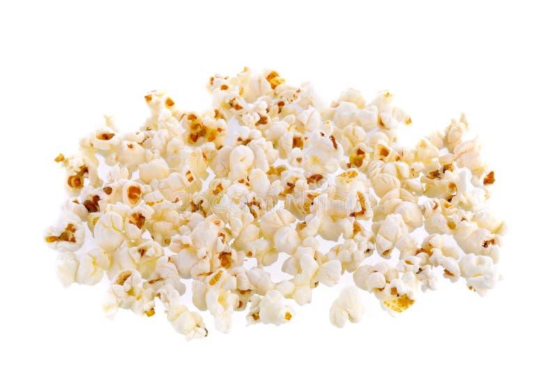 Geïsoleerdea popcorn royalty-vrije stock foto's