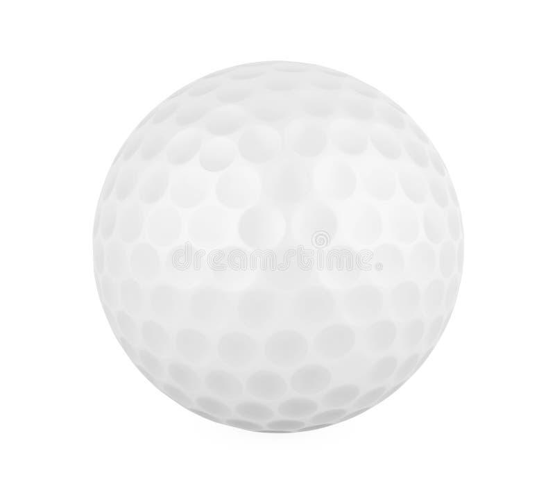 Geïsoleerdec golfbal vector illustratie
