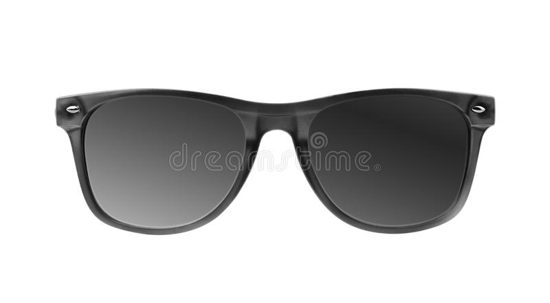 Geïsoleerded zonnebril royalty-vrije stock foto
