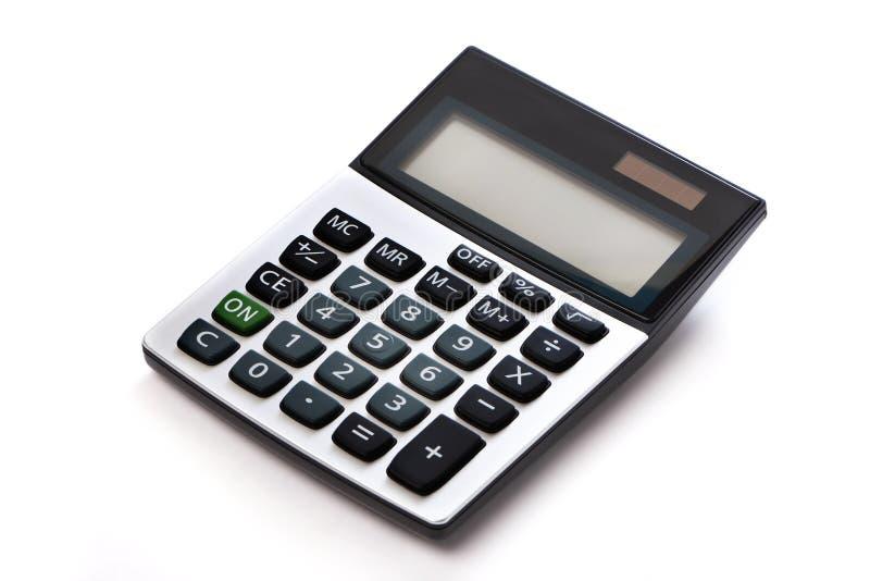 Geïsoleerdee calculator royalty-vrije stock afbeelding