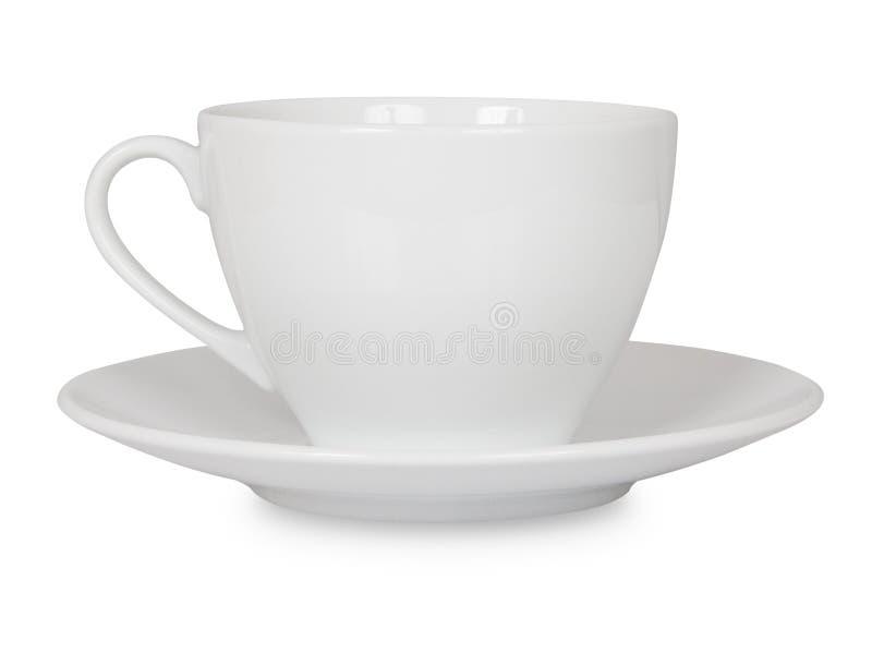 Geïsoleerdee de kop van de koffie stock foto's
