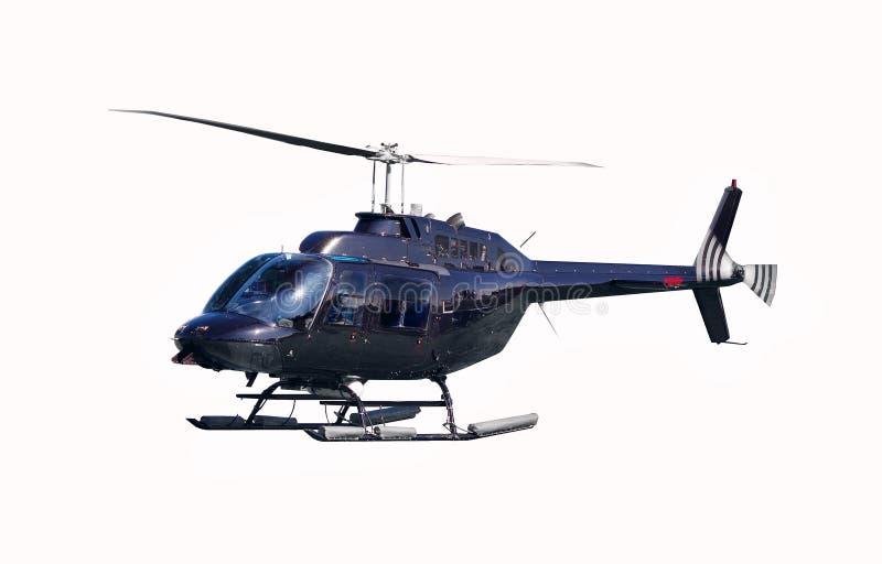 Geïsoleerdee helikopter stock afbeeldingen