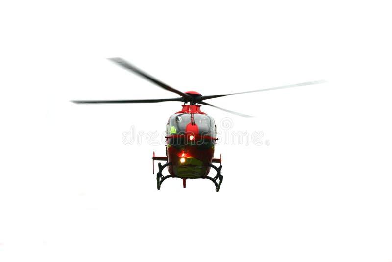 Geïsoleerdee Helikopter royalty-vrije stock fotografie