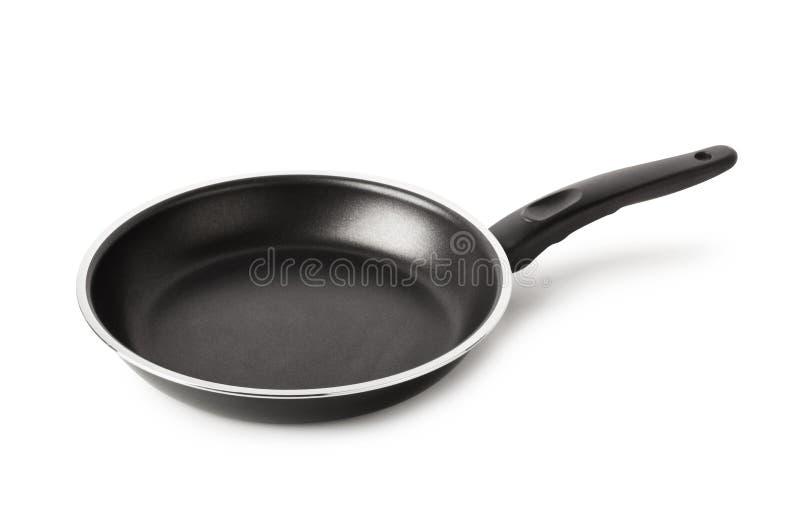 Geïsoleerdee pan stock afbeelding