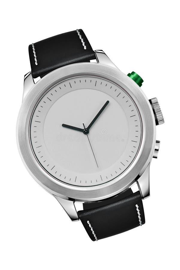 Geïsoleerdeg het horloge van de hand royalty-vrije stock afbeelding