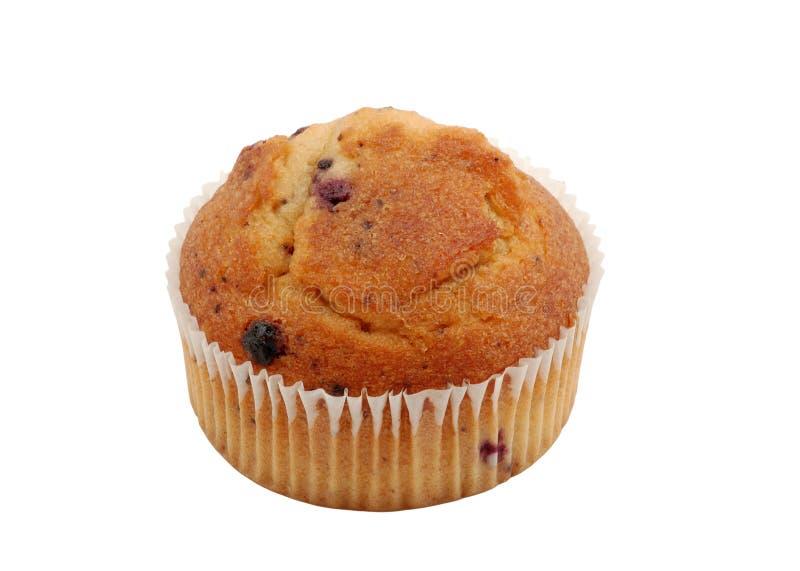 Geïsoleerdeg muffin stock foto