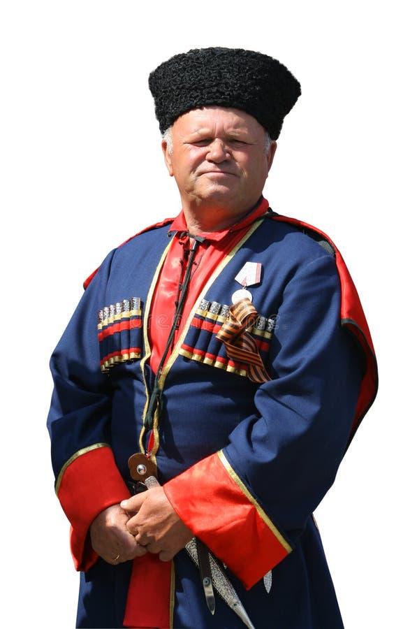 (Geïsoleerdeh) kozak 2 stock foto