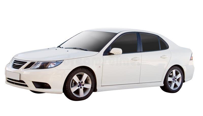 Geïsoleerdei auto royalty-vrije stock fotografie