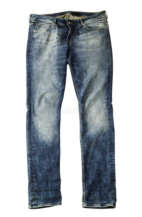 Geïsoleerdei jeans stock afbeelding