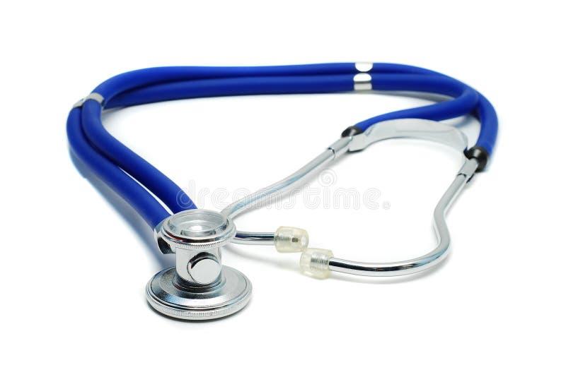 Geïsoleerdei stethoscoop stock fotografie