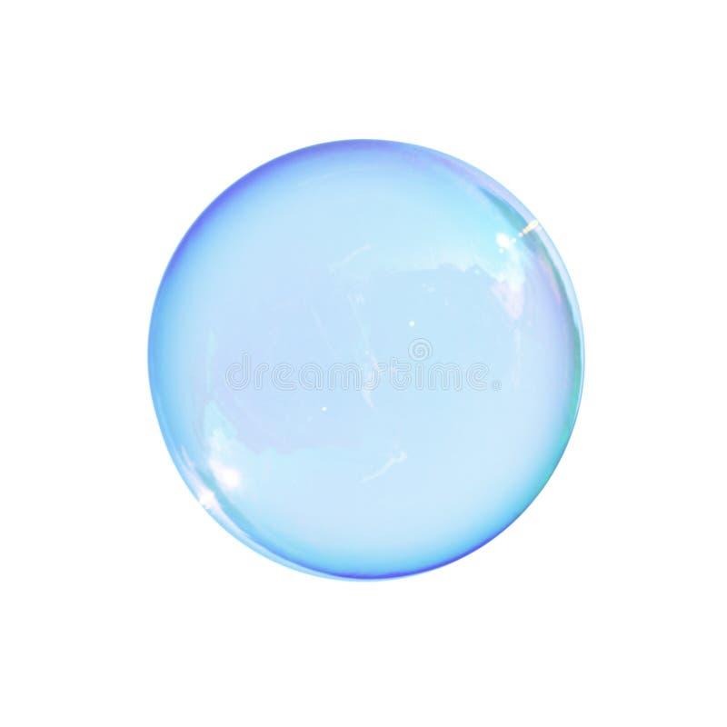 Geïsoleerdei zeepbel royalty-vrije stock foto's