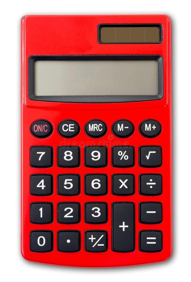 Geïsoleerdem Calculator royalty-vrije stock foto's