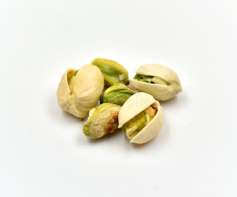 Geïsoleerdem pistaches stock afbeelding