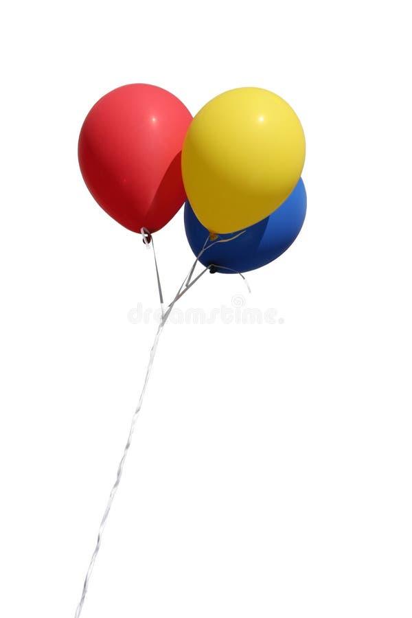 Geïsoleerdeo ballons stock fotografie