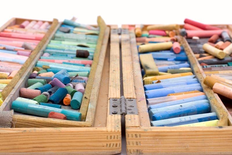 Geïsoleerdeo pastelkleur royalty-vrije stock fotografie