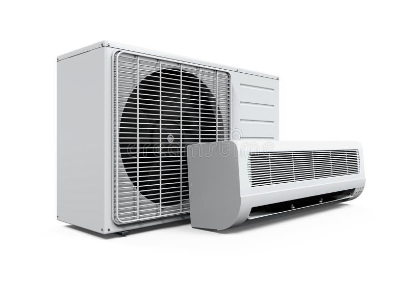 Geïsoleerder airconditioner vector illustratie