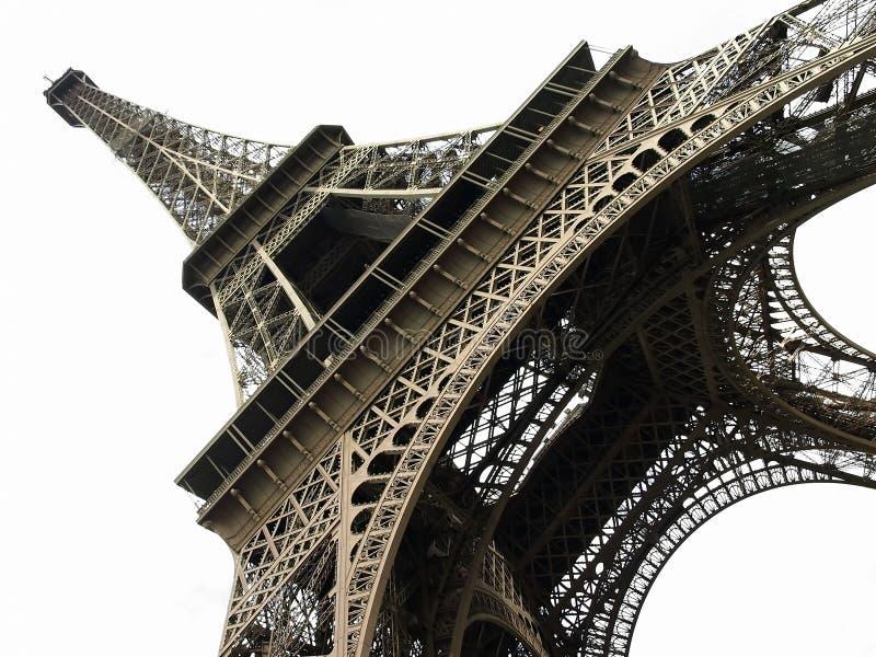 Geïsoleerder de Toren van Eiffel stock fotografie