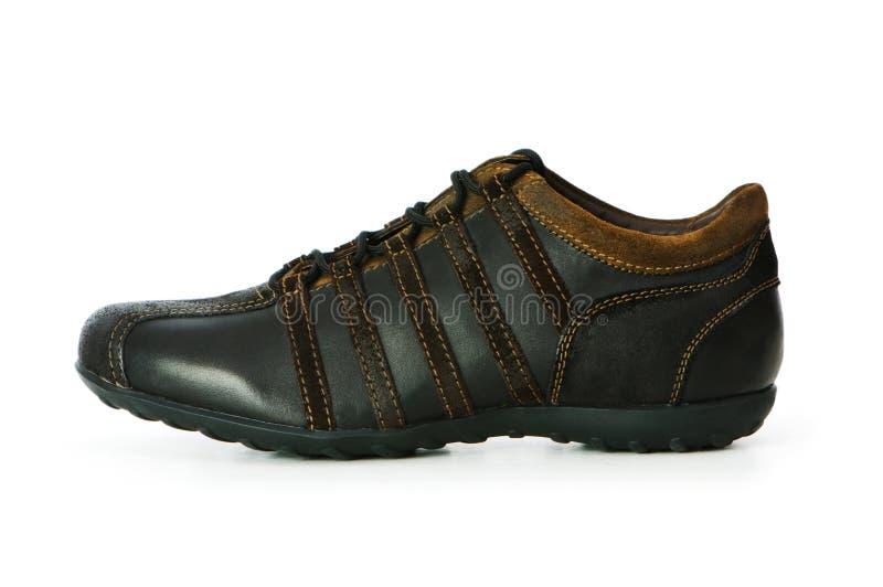Geïsoleerdes de schoenen van de sport royalty-vrije stock afbeelding