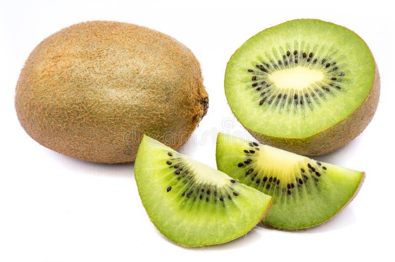 Geïsoleerdes het fruit van de kiwi stock foto