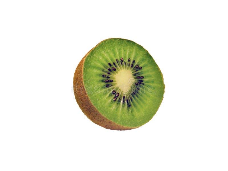 Geïsoleerdes het fruit van de kiwi stock afbeeldingen