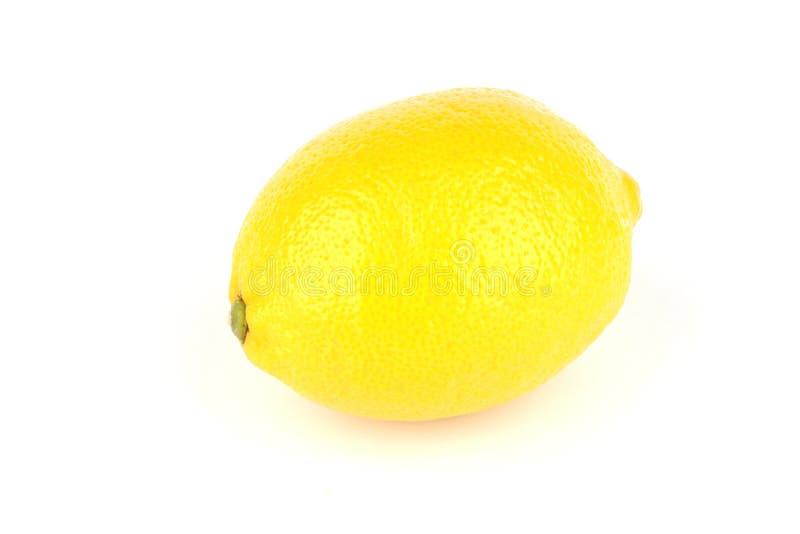 Geïsoleerdet citroen stock afbeeldingen