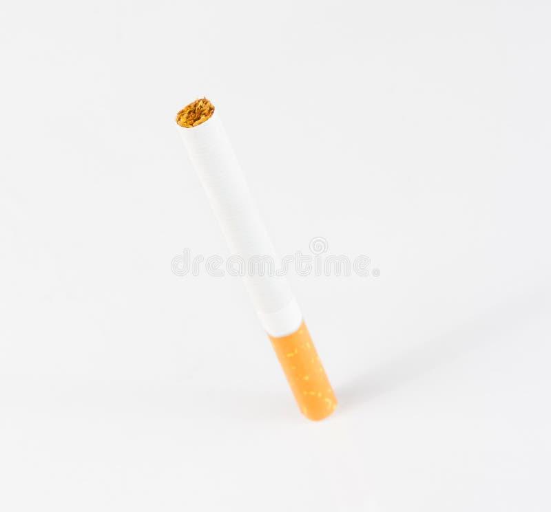 Geïsoleerdeu sigaret royalty-vrije stock foto