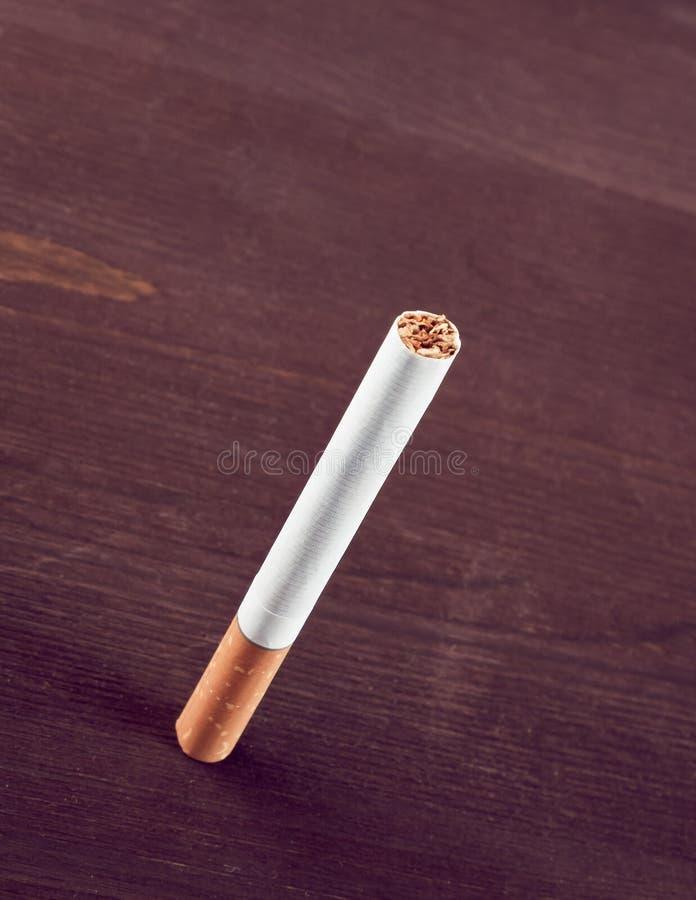 Geïsoleerdeu sigaret stock afbeelding