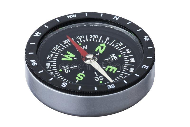 Geïsoleerdn kompas royalty-vrije stock afbeeldingen