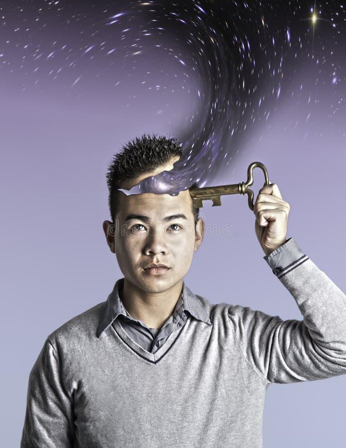 Geöffneter Verstand stockfoto