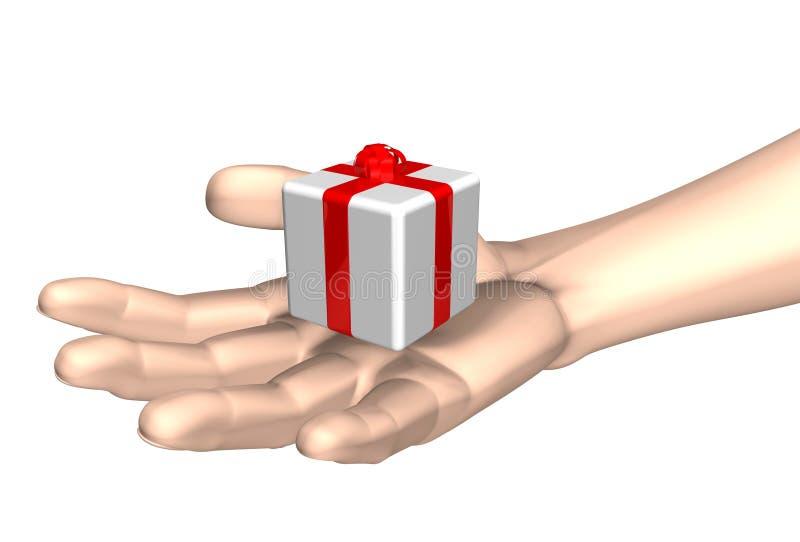 Download Ge sig för gåva stock illustrationer. Illustration av lycka - 235566