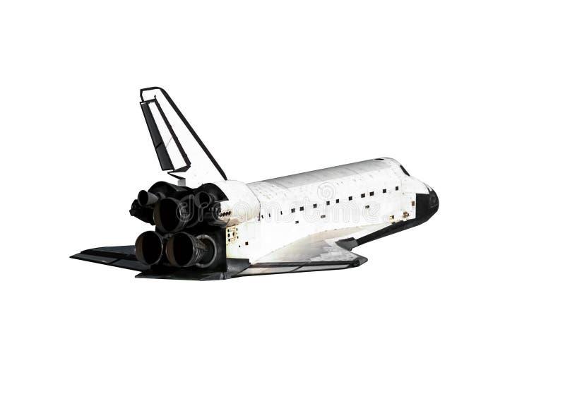 Ge?soleerd ruimteveer stock fotografie