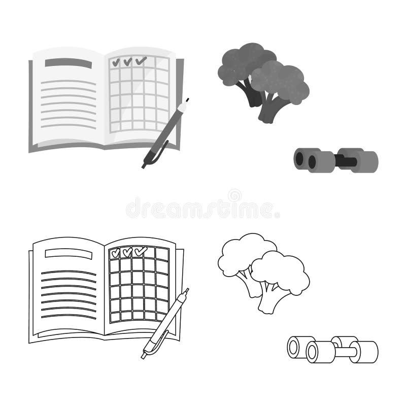 Ge?soleerd voorwerp van dieet en behandelingspictogram Reeks van dieet en geneeskunde vectorpictogram voor voorraad stock illustratie