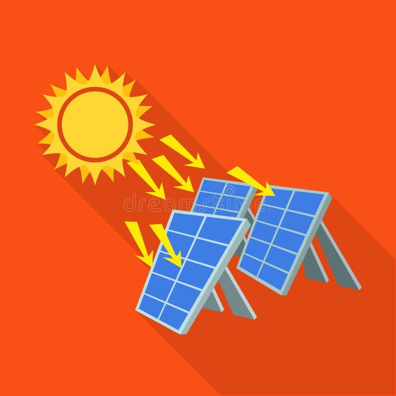 Ge?soleerd voorwerp van thermisch en postpictogram Inzameling van thermisch en machts vectorpictogram voor voorraad stock illustratie