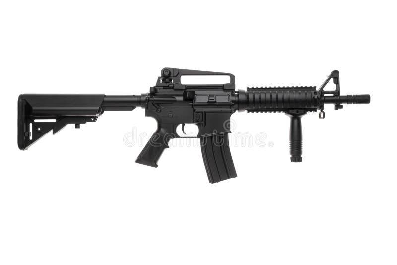 Ge?soleerd wapen AR-15 stock foto's