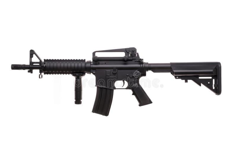 Ge?soleerd wapen AR-15 stock afbeelding