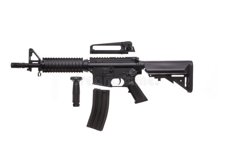 Ge?soleerd wapen AR-15 stock foto