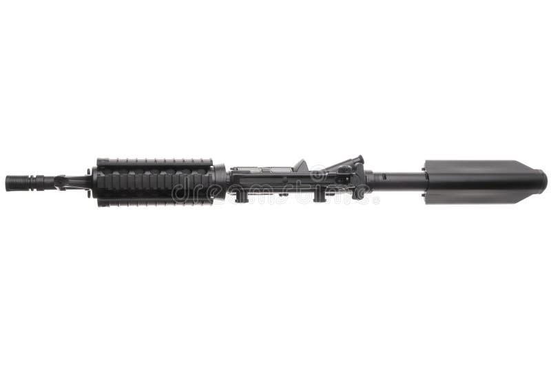 Ge?soleerd wapen AR-15 royalty-vrije stock afbeeldingen