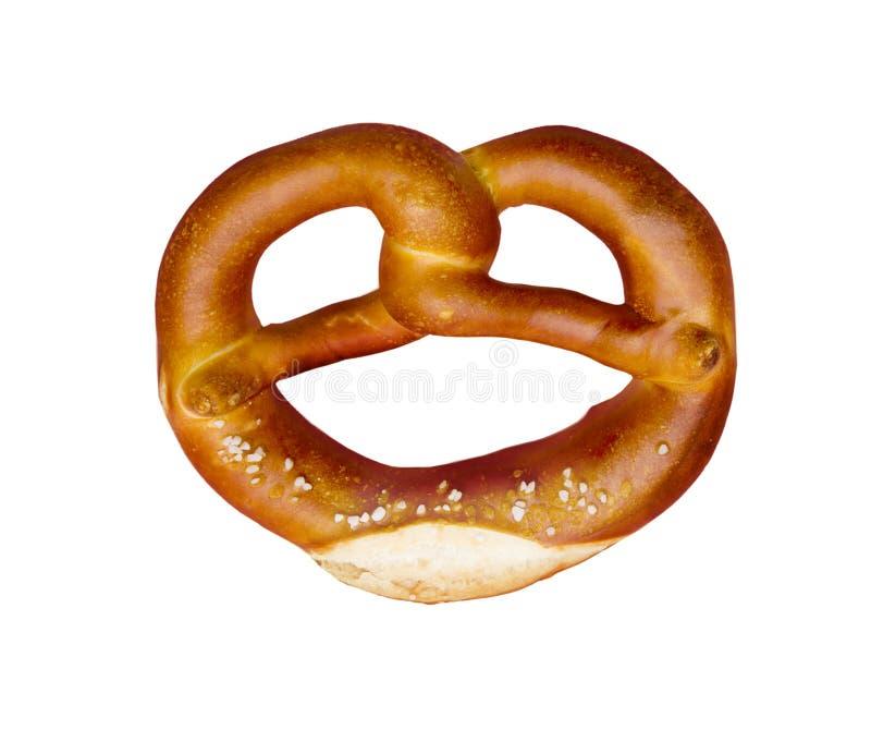 Ge?soleerde pretzel royalty-vrije stock foto's