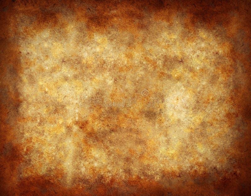 Gealterter Papierhintergrund stock abbildung
