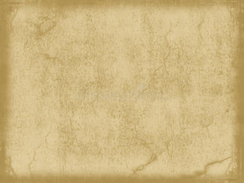 Gealtertes Weinlesepapier stockbild