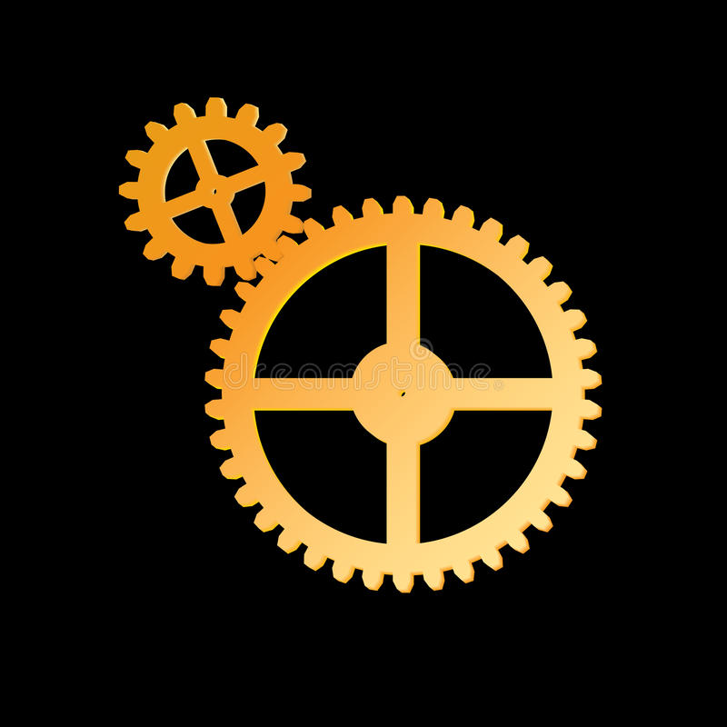 Download Gear stock vector. Image of machinery, design, engine - 13090130