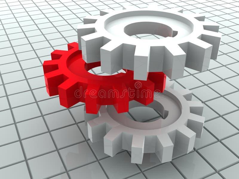 Gear. vector illustration