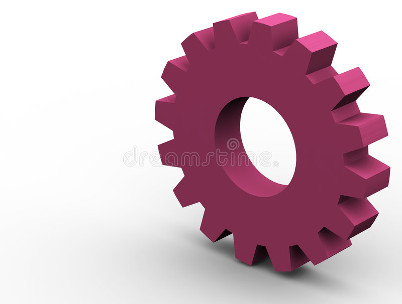 Download Gear stock illustration. Illustration of machinery, groove - 627447