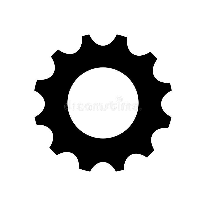 Gear cog wheel. Icon vector illustration graphic design vector illustration
