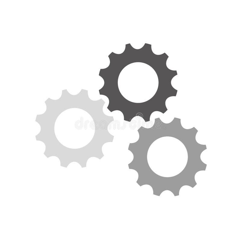 Gear cog wheel. Icon vector illustration graphic design stock illustration