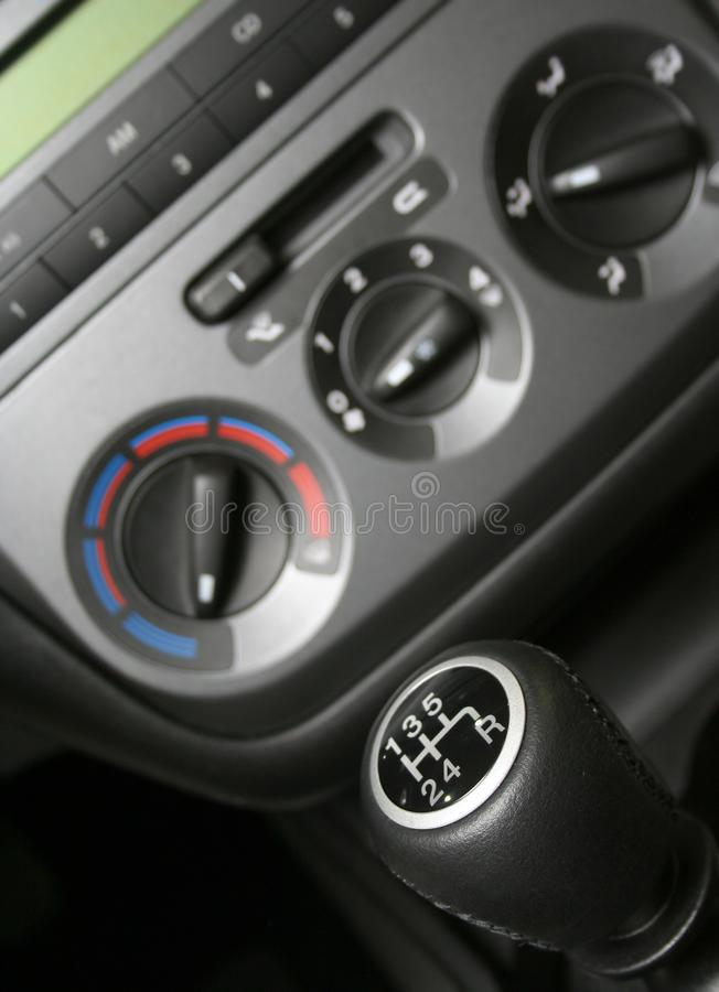 Gear handle royalty free stock photography