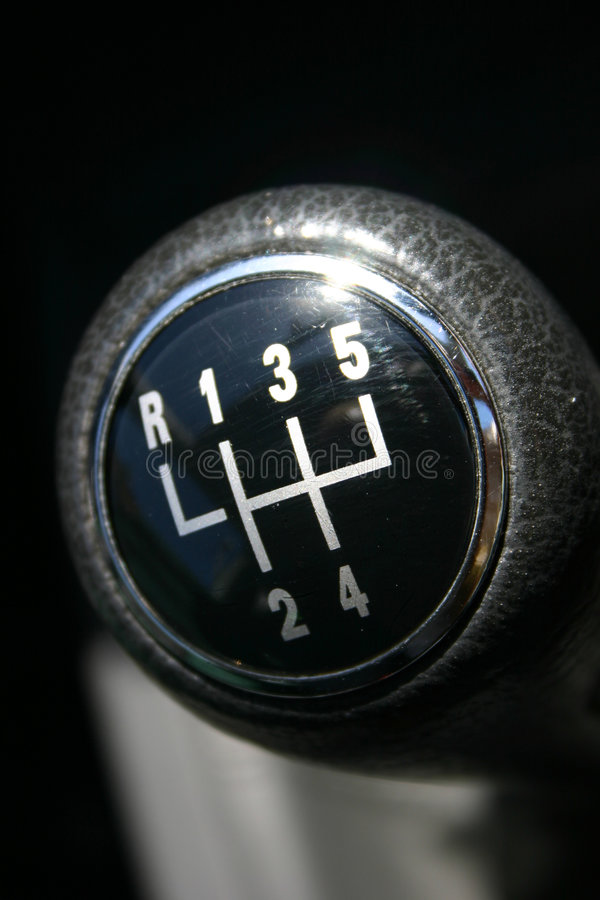 Gear Knob Royalty Free Stock Image