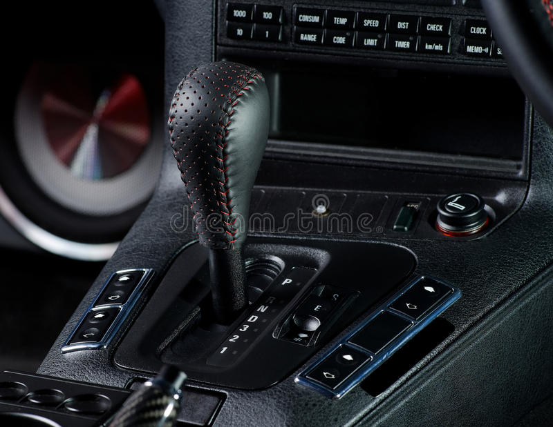 Download Gear knob stock image. Image of forward, automobile, interior - 39803723