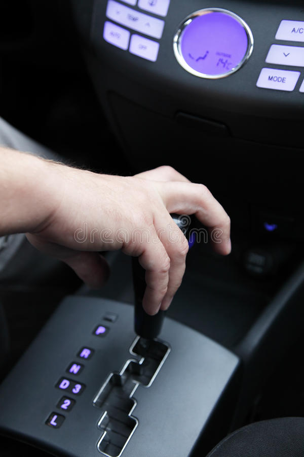 Download Gear lever car stock photo. Image of transportation, hand - 21865248